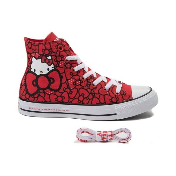 Converse x Hello Kitty Chuck Taylor All Star 0abd621320b1f